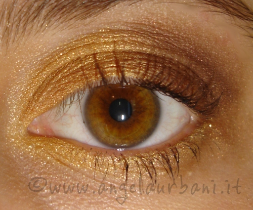 tutorial trucco estivo Warm summer by *AngyMakeUp*