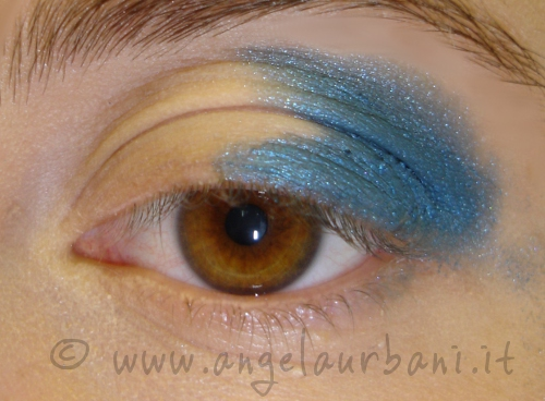 Tutorial trucco 80s are back step 1
