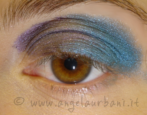 Tutorial trucco 80s are back step 2