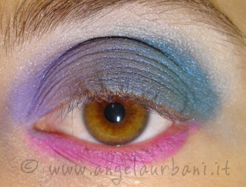 Tutorial trucco 80s are back step 4