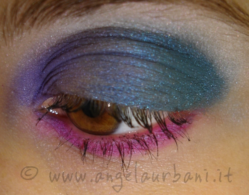 Tutorial trucco 80s are back step 5