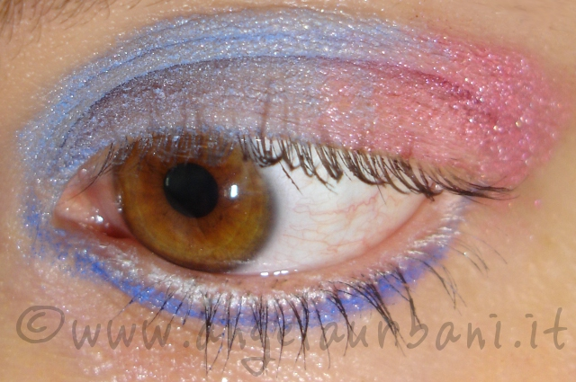 Tutorial trucco The Balance rosa e azzurro by *AngyMakeUp*