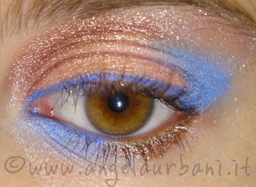 Tutorial Makeup Copper Skies by *AngyMakeUp*