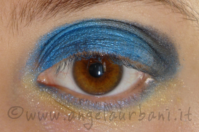 tutorial trrucco katy perry dark horse step 3