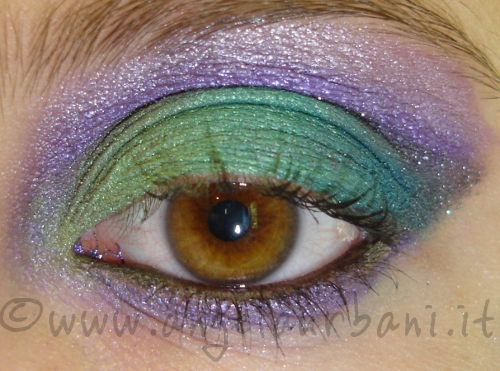 TUTORIAL TRUCCO OCCHI EMERALD TRESURE by AngyMakeUp