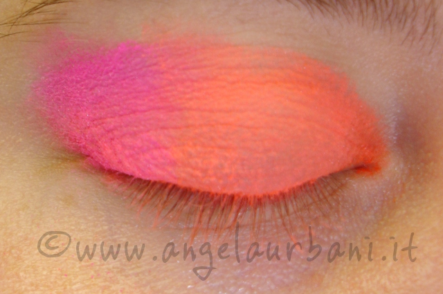 Tutorial trucco Tropical Flamingo step 2