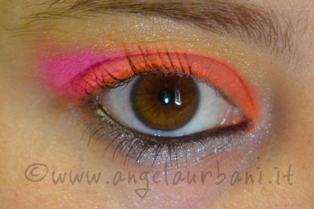 tutorial trucco Tropical Flamingo by *AngyMakeUp*