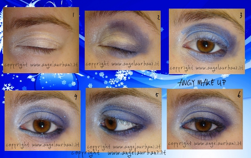Tutorial trucco blu Midnight Glamour Avon