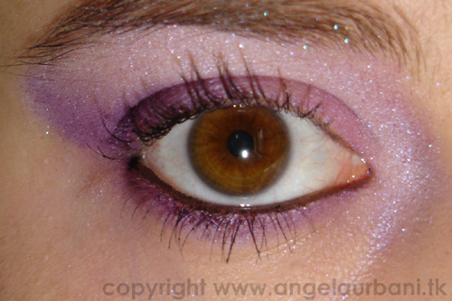 tutorial trucco True violet