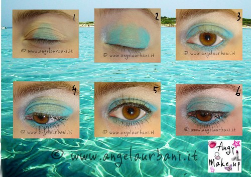 photo tutorial trucco Fresh Jade Avon by Angela presenta Avon Angy Makeup