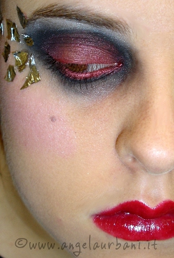 tutorial trucco Sexy Witch halloween strega 2011