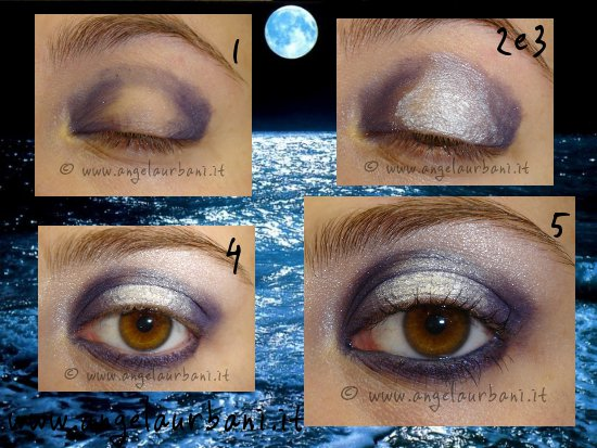 Tutorial trucco blu e bianco Summer Night by Angy make up